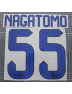 2015-2016 Inter Milan x NAGATOMO / 長友佑都 Nameset (Away Use)