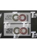 Japan Football Association / JFA 100 Anniversary Badge Set