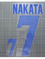 1999-2000 Japan x 中田英寿 / NAKATA Nameset (Away Use)