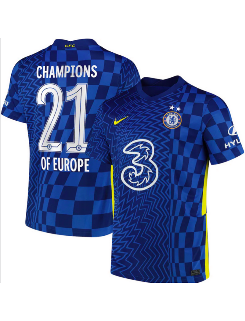 2021 Chelsea x Champions League Winner Special Nameset (21 Champions Of Europe)
