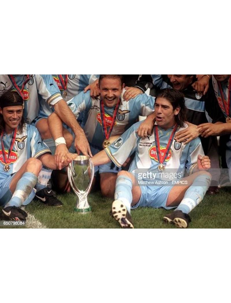 1999 UEFA Super Cup - Lazio VS Manchester United Match Detail (Lazio Use)