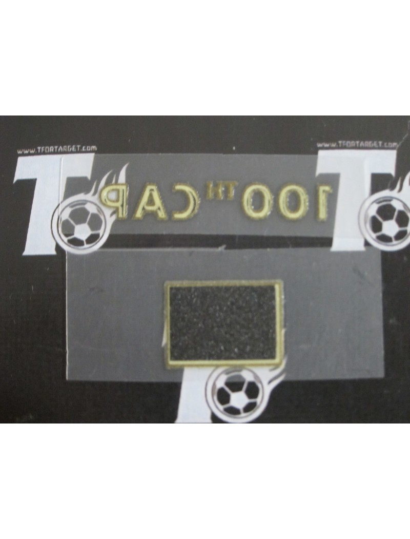 2013 England x LAMPARD x 100 Caps Badges Set (England Use)