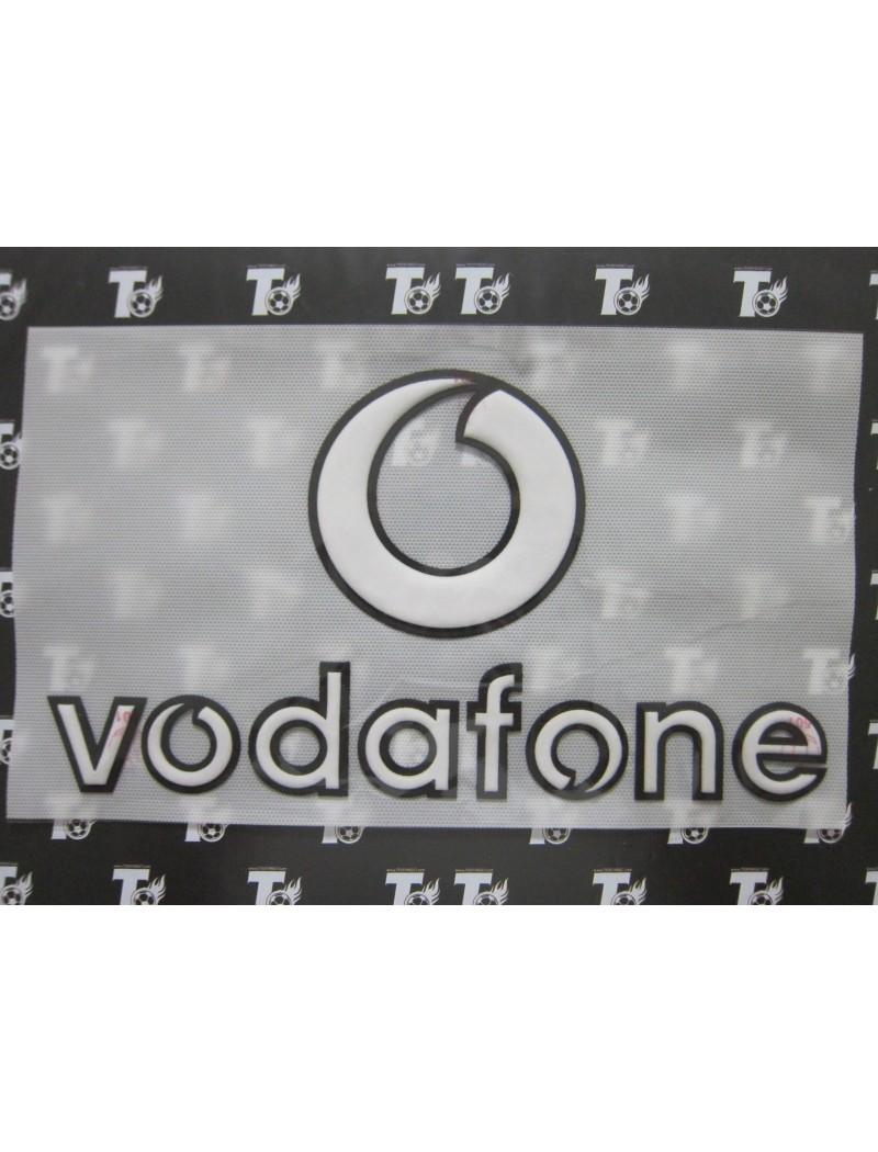 2002-2004 Manchester United Sponsor Badge - Vodafone