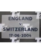 2004 EURO - England vs Switzerland Match Detail (England use)