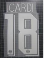 2019-2020 PSG x ICARDI Nameset (Cup Use)