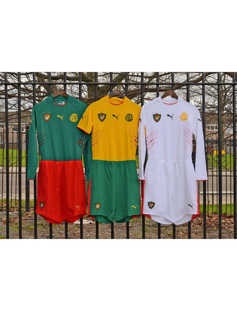 2004-2005 Cameroon x DJEMBA Nameset (Yellow Use)