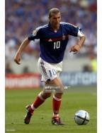 2004 France x ZIDANE Nameset (Home Use)