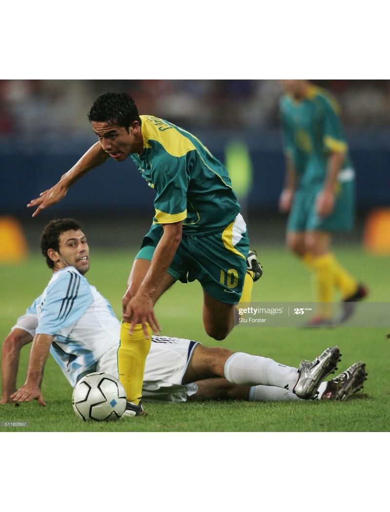 2004-2006 Australia x CAHILL Nameset (Away Use)