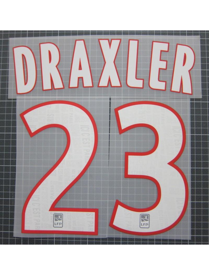 2019-2020 PSG x DRAXLER Nameset