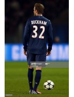 2012-2013 PSG x BECKHAM Nameset (UEFA / Home Use)