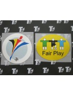 2000 UEFA Euro Badge Set