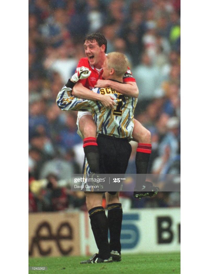 1993-1995 Manchester United x SCHMEICHEL Nameset