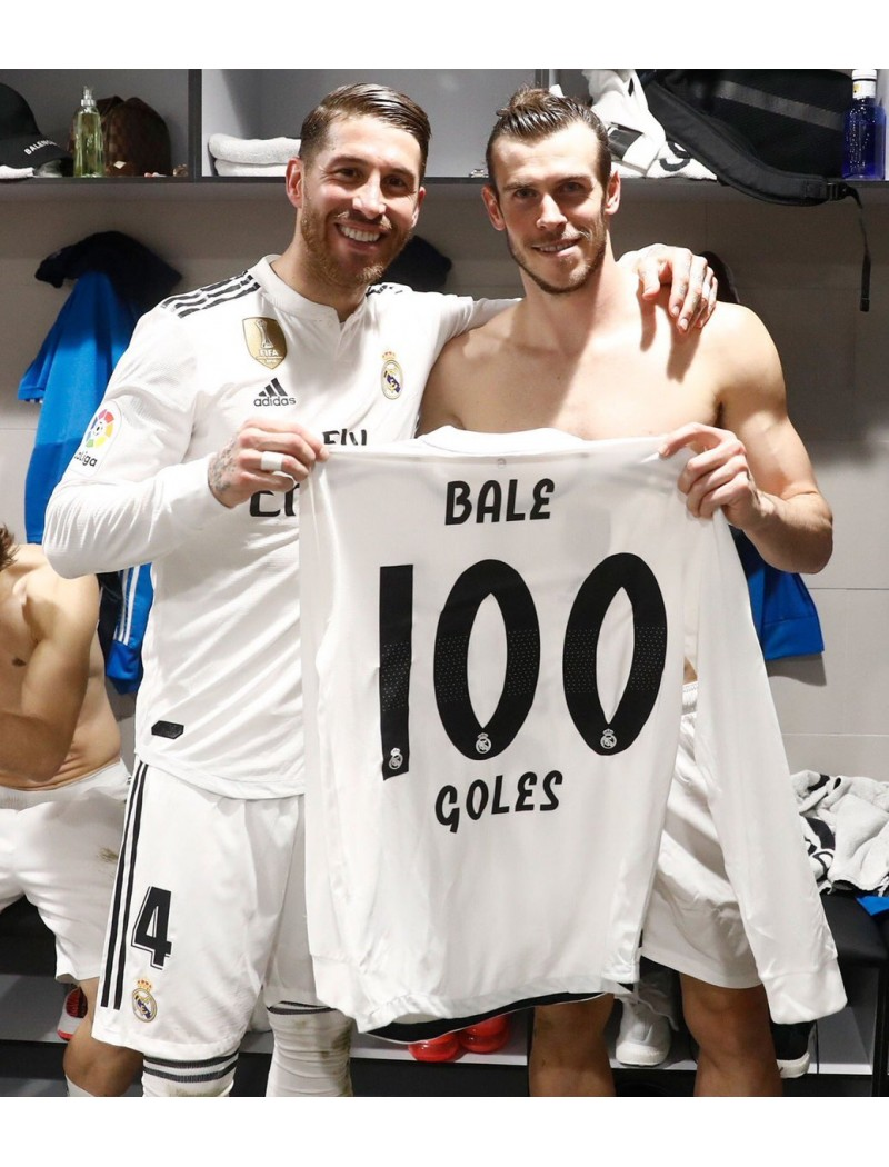 2018-2019 Real Madrid x BALE 100th Goals Nameset
