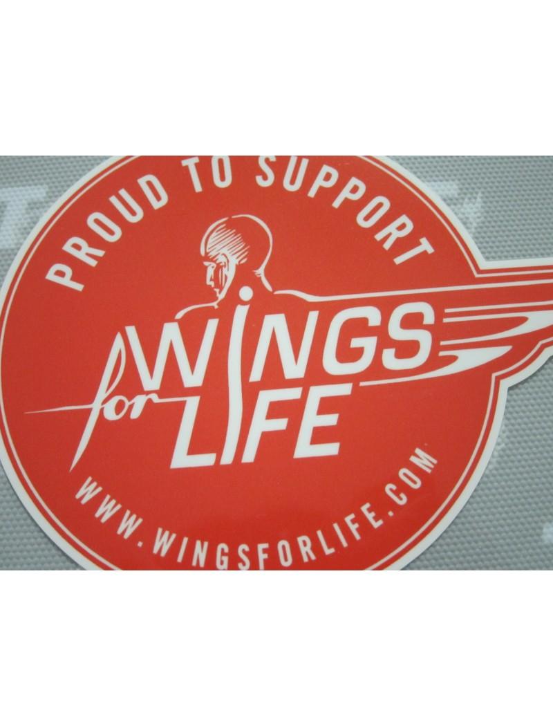 Red Bull Salzburg Sponsor Badge -  WINGS FOR LIFE (Red)