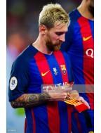2016 Supercopa de Espana / Super Cup Match Details + Badge Set (Barcelona / Sevilla Use)