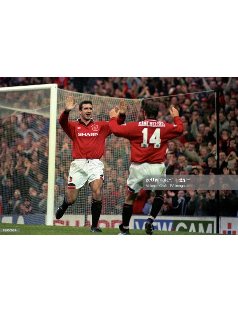 1993-1995 Manchester United x KANCHELSKIS Nameset