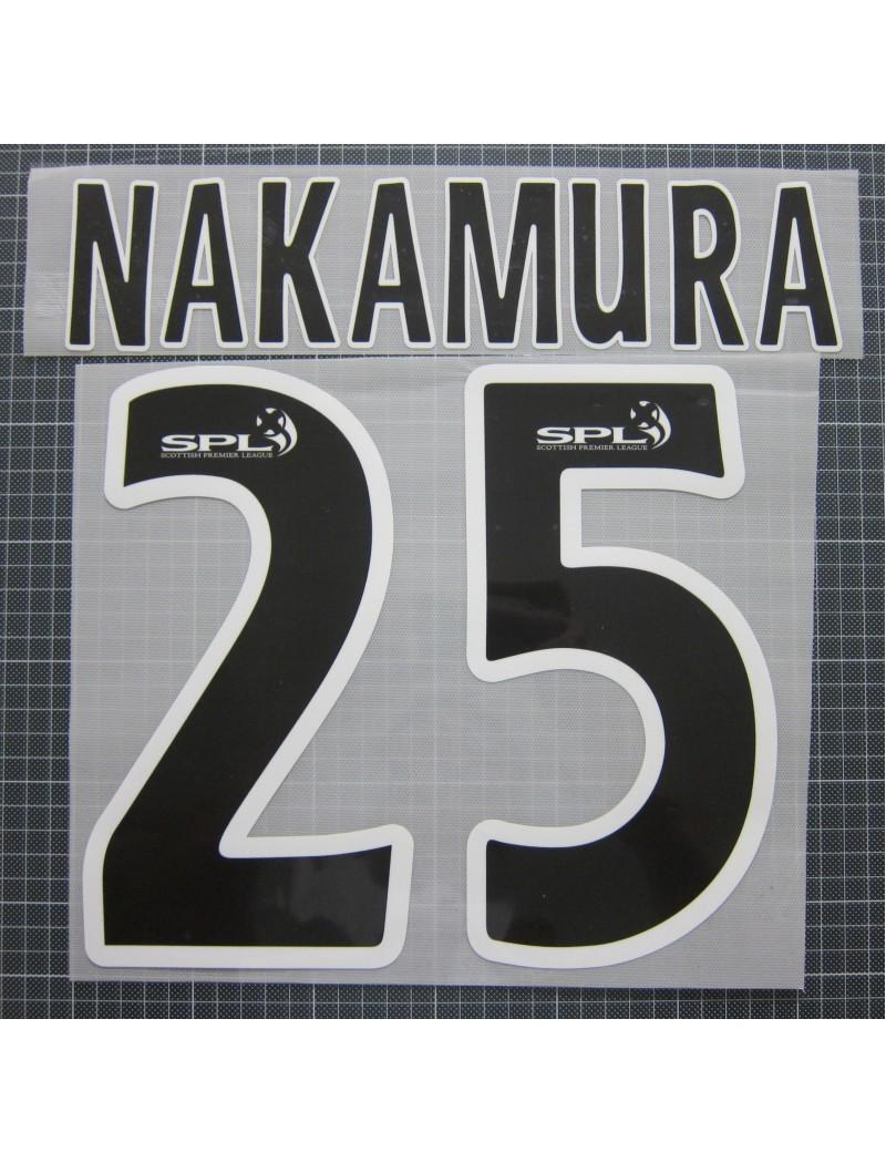 2005-2009 Celtic x NAKAMURA SHUNSUKE / 中村俊輔 Nameset