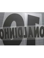 2002-2003 PSG x RONALDINHO Nameset
