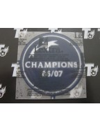 2006-2007 UEFA Champions League Winner Badge (AC Milan Use)