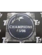 2005-2006 UEFA Champions League Winner Badge (Barcelona Use)