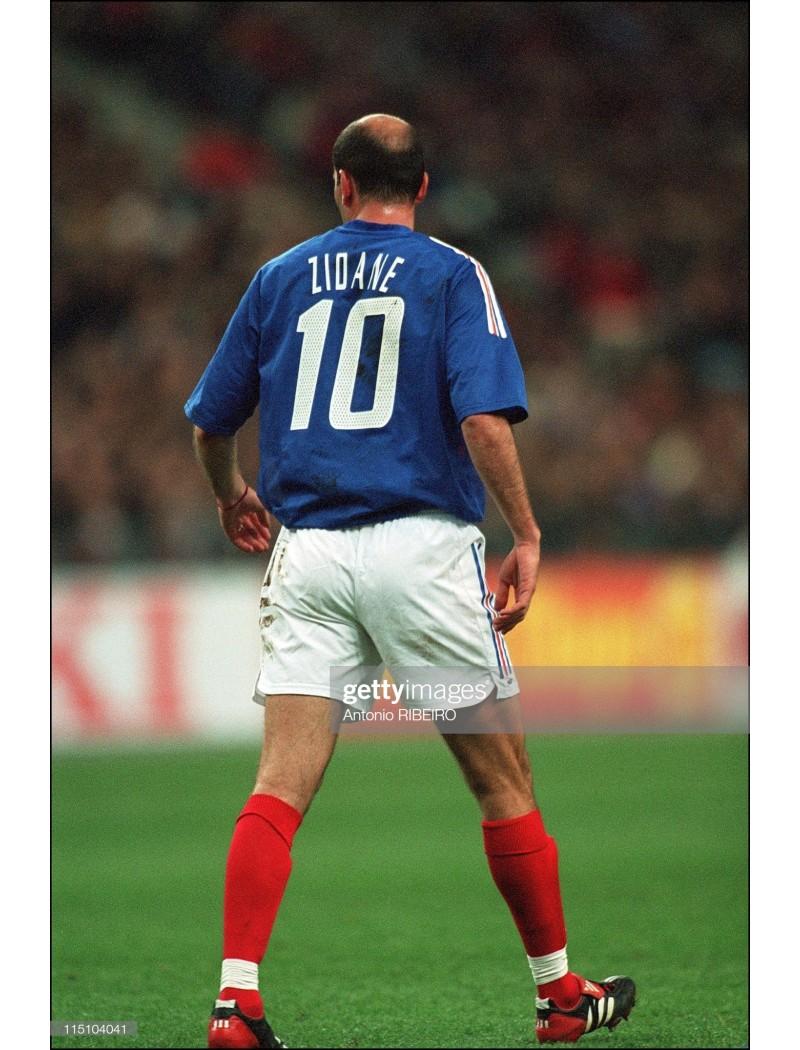 2002 France x ZIDANE Nameset