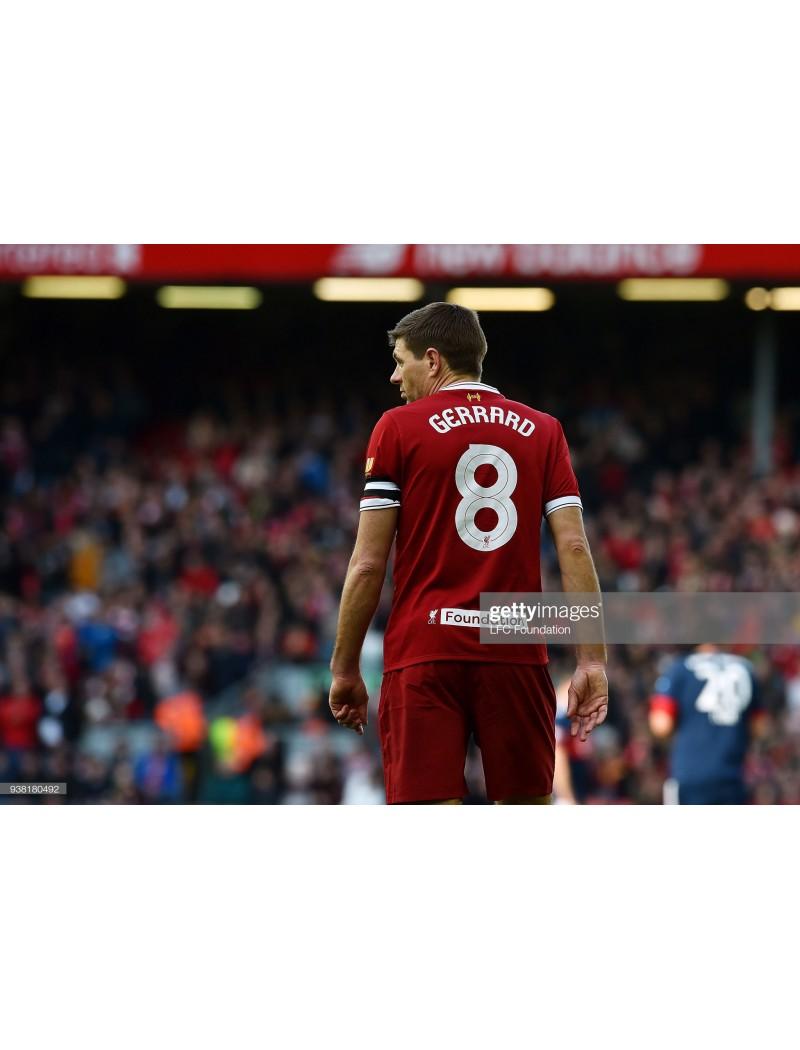 2018 Liverpool Legends vs Bayern Munchen Legends Match Detail + Sponsor Set