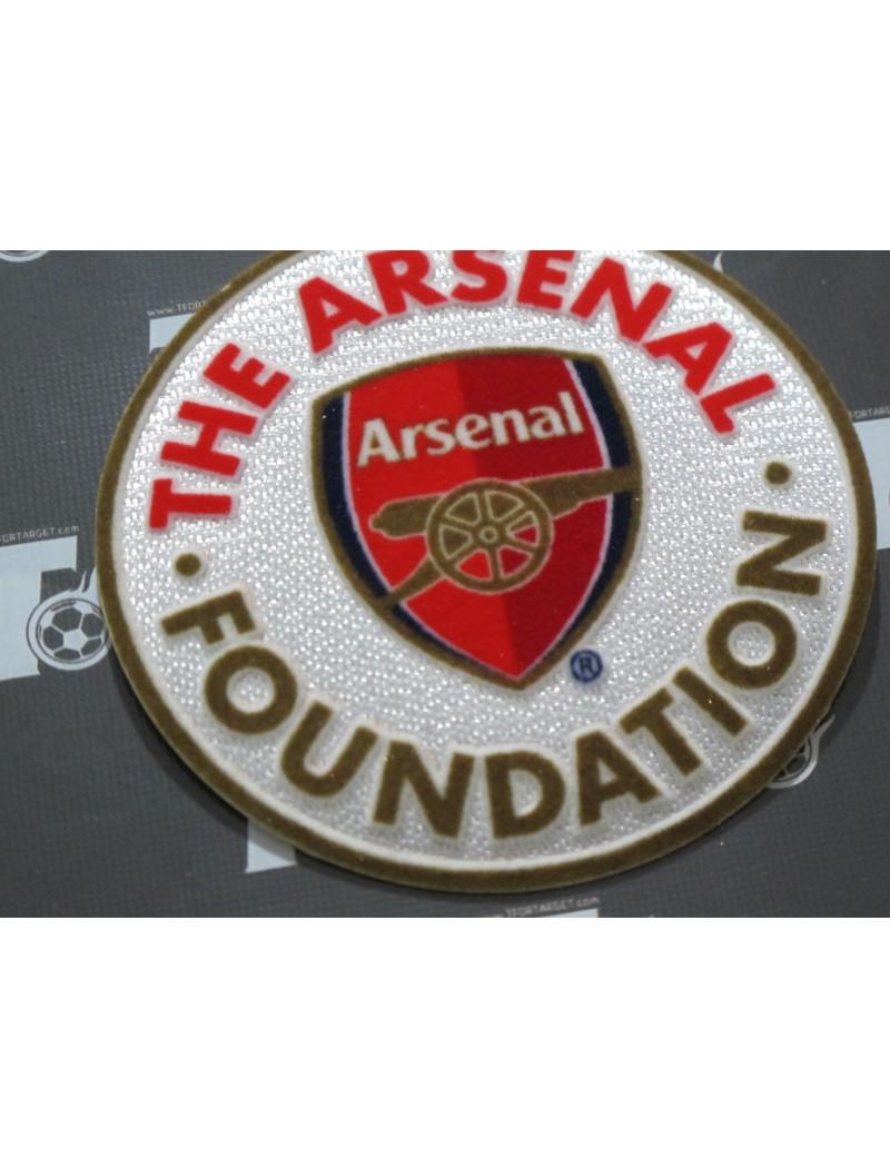 2018 Arsenal Foundations Charity Badge (Arsenal Legends vs Real Madrid Legends)