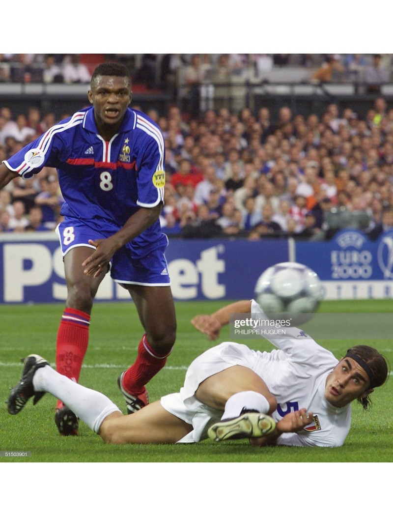 2000 France x DESAILLY Nameset