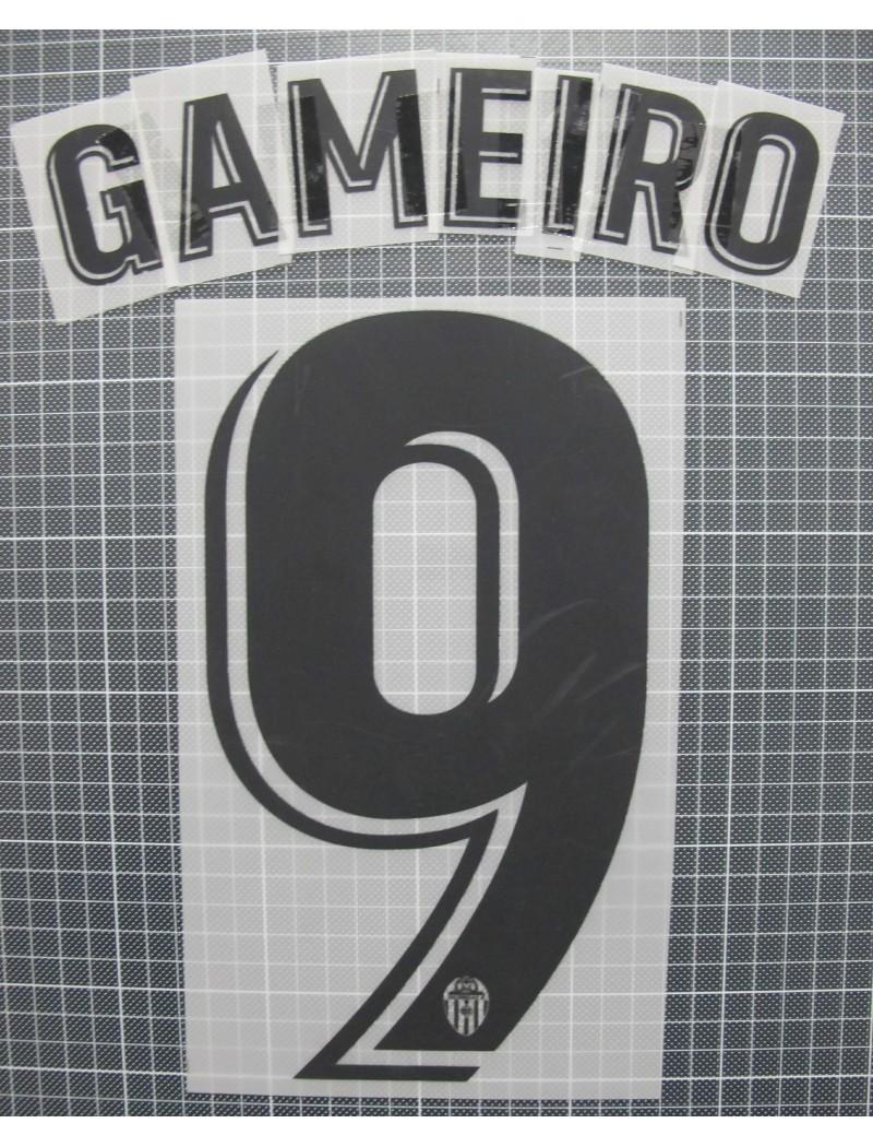 2018-2019 Valencia x GAMEIRO Nameset