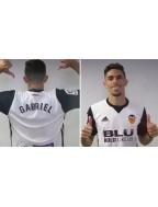 2018-2019 Valencia x GABRIEL Nameset