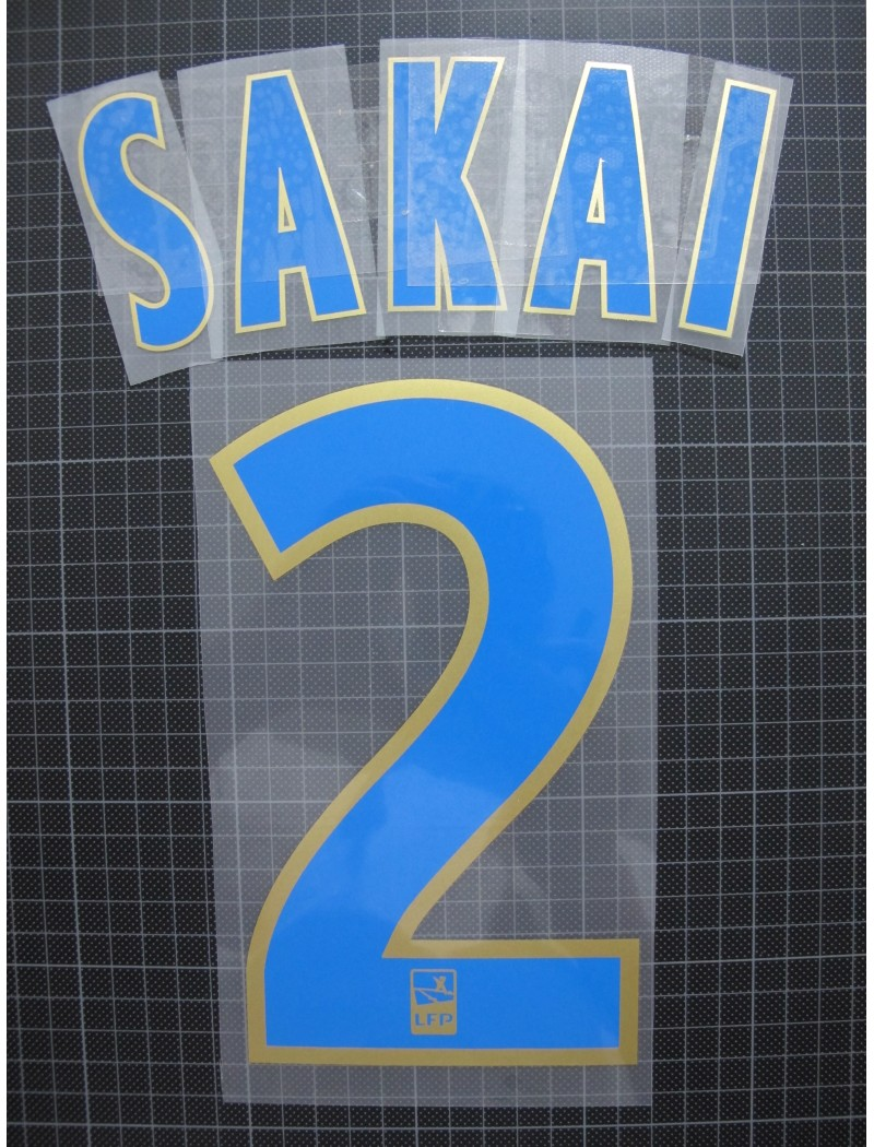 2016~2019 Marseille x SAKAI / 酒井宏樹 Nameset
