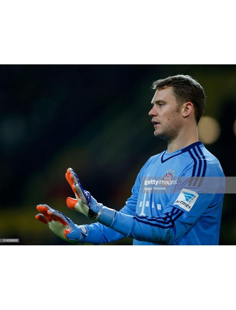 2015-2016 Bayern Munchen x NEUER Nameset (Home Use)