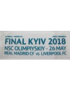 2018 UEFA Champions League - Real Madrid vs Liverpool Match Detail (Real Madrid Use)