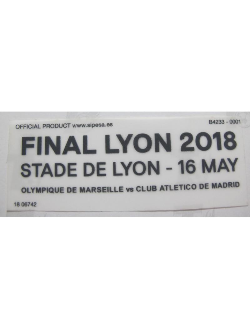 2018 UEFA Europa League - Atletico Madrid  vs Marseille Match Detail (Atletico Madrid Use)