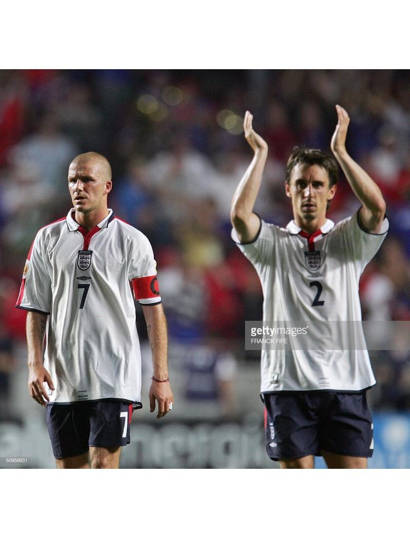 2004 EURO - England vs France Match Detail (England use)
